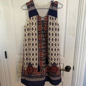 Springy dress from a boutique!